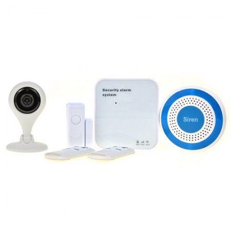 Alarm Wi-fi PN-601 kamera HD