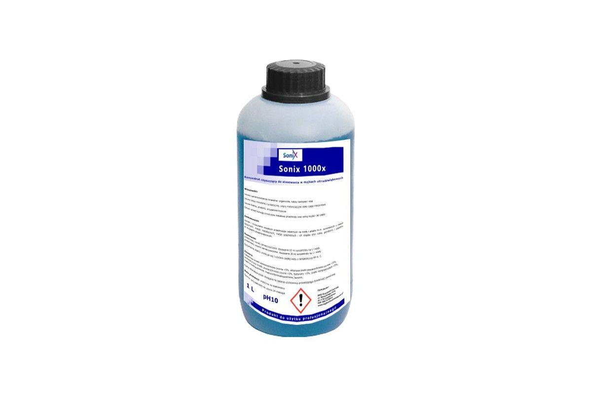 Sonix 1000x: Płyn koncentrat 1l do myjki ultradźwiękowej