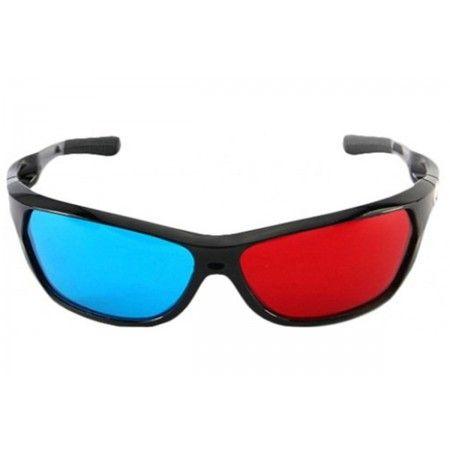 Okulary 3D anaglifowe