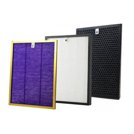 Komplet filtrów do oczyszczacza powietrza Cronos Gold