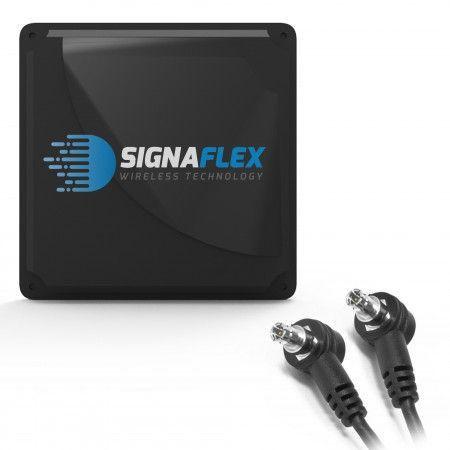 Antena Mat 2x21 dbi 4G LTE 2x5m z 2xFMEż + 2xTS9