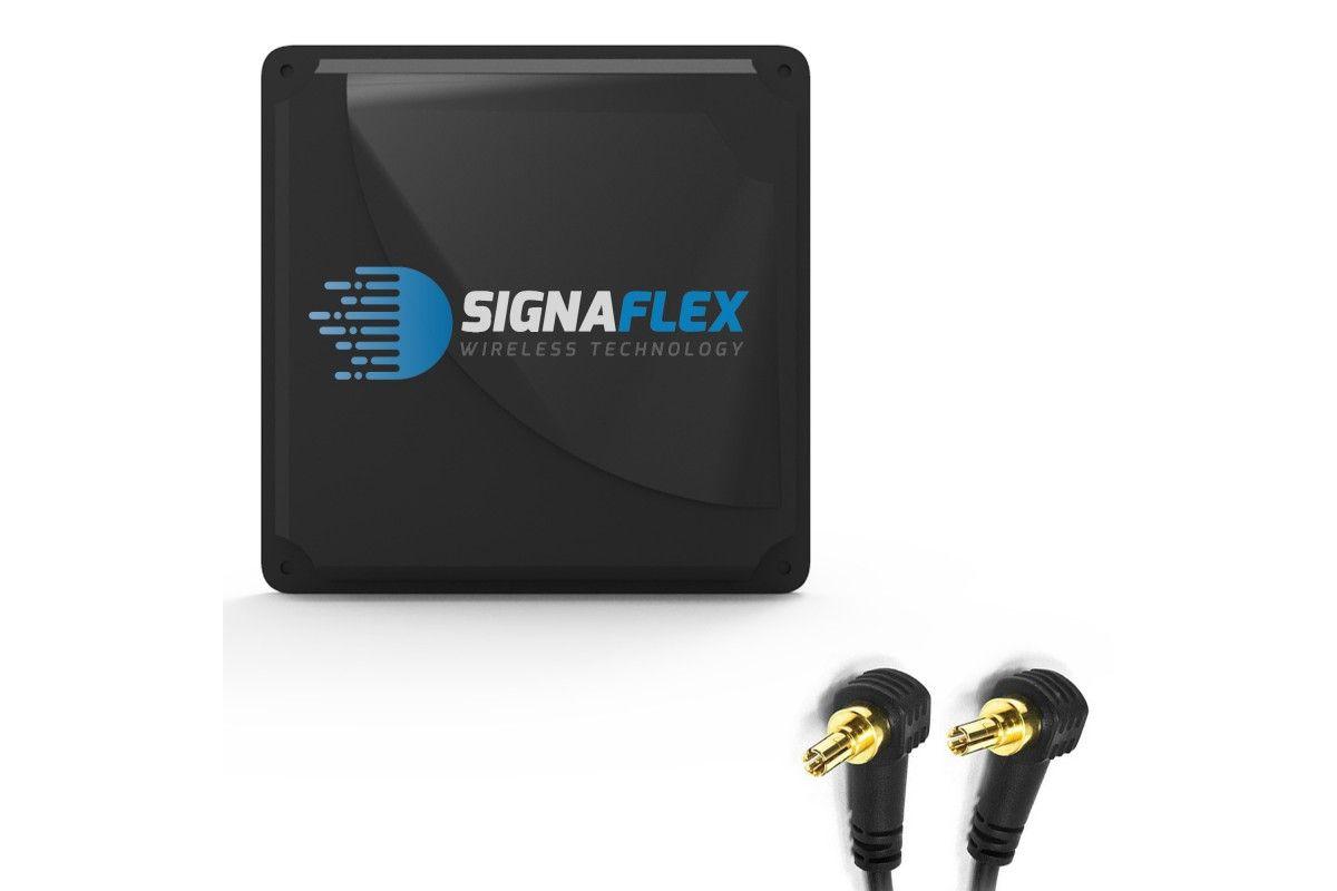 Antena Mat 2x21 dbi 4G LTE 2x5m z 2xFMEż + 2xCRC9