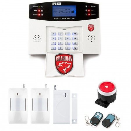 Alarm GSM LCD Guardian box + 1 PIR
