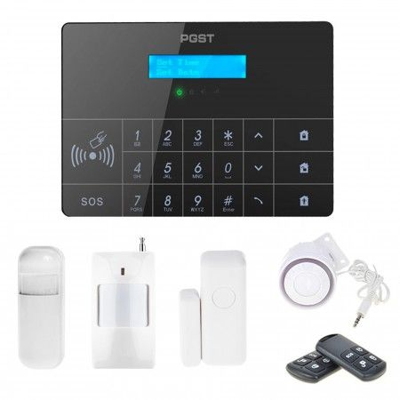 Alarm GSM Guardian II box + 1 PIR