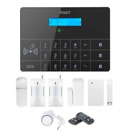 Alarm GSM Guardian II box + 2 PIR + 1 okno/drzwi