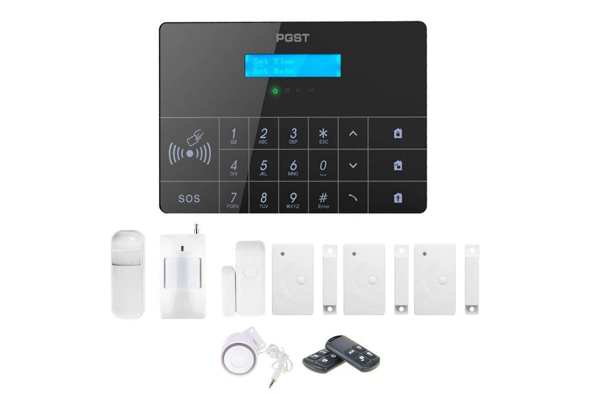 Alarm GSM Guardian II box + 1 PIR + 3 okno/drzwi
