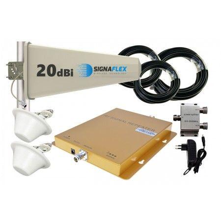 Komplet GSM/UMTS/DCS GOLD Tajfun z 2x grzybek