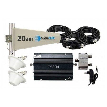 Komplet GSM 990 (T2000) Tajfun z 2x grzybek