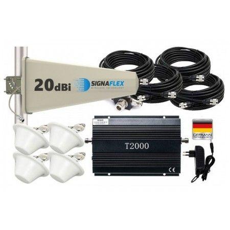 Komplet GSM 990 (T2000) Tajfun z 4x grzybek