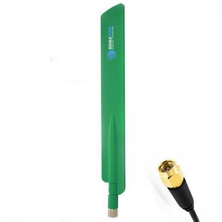 Antena bat 4G LTE GREEN 13dbi SMA