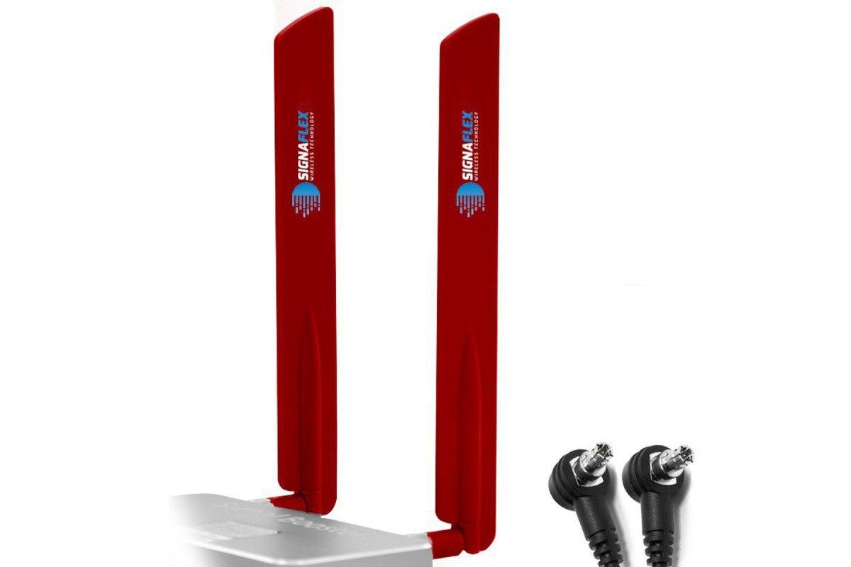 Antena bat 4G LTE RED 15dbi + TS9  x 2szt