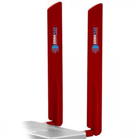 Antena bat 4G LTE RED 15dbi SMA x 2szt