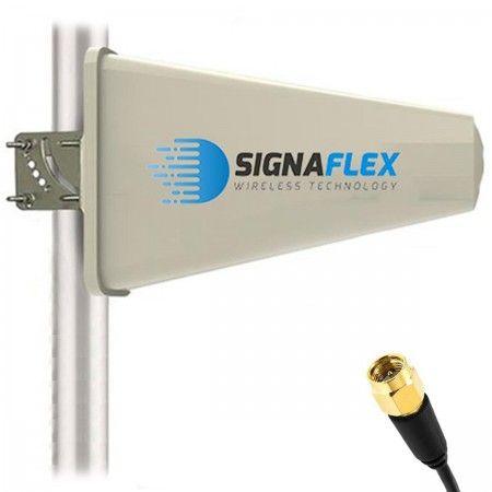 Antena Tsunami 16 dBi z 10 m FME + konektor SMA