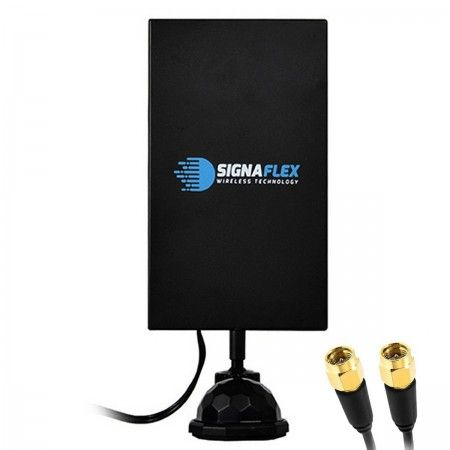 Antena mimo LTE DIAMENT 2x22dbi 2x3m 2xSMAm