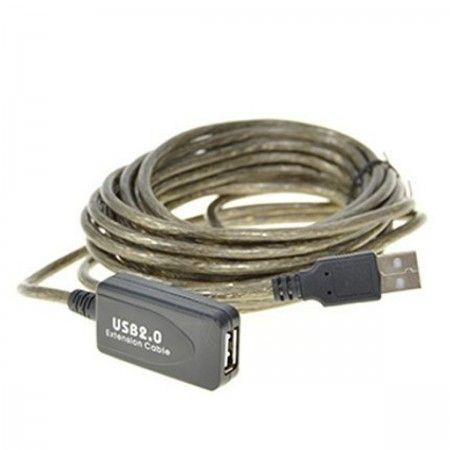 Przedłużacz USB aktywny 10m
