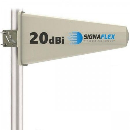 Antena Tajfun 20dBi 10m z wtykiem F