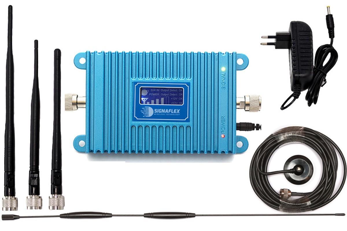 Komplet GSM Blue LCD600 Omni z bat
