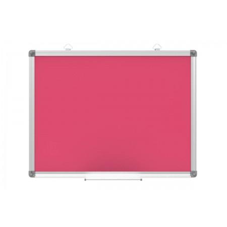 Tablica magnetyczna suchościeralna - 60x45 cm różowa