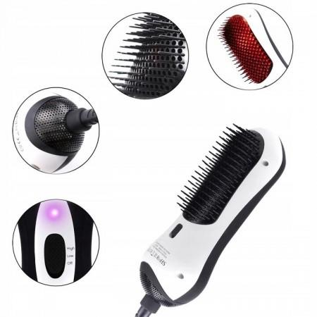 Jonizująca szczotka do włosów na podczerwień