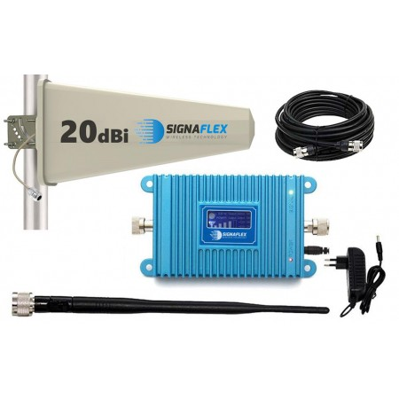 Komplet GSM Blue LCD Tajfun z bat