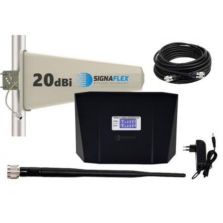 Komplet GSM/UMTS czarny ABS Tajfun z bat