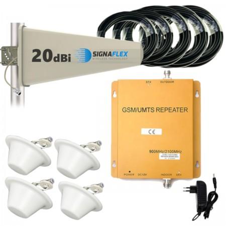 Komplet GSM/UMTS DUŻY Tajfun z 4x grzybek