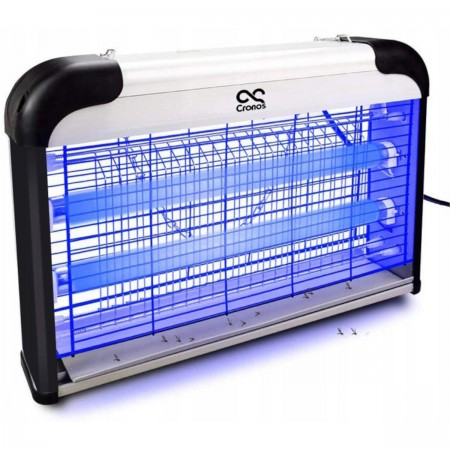 Lampa owadobójcza 2x świetlówkk UV-A 30W