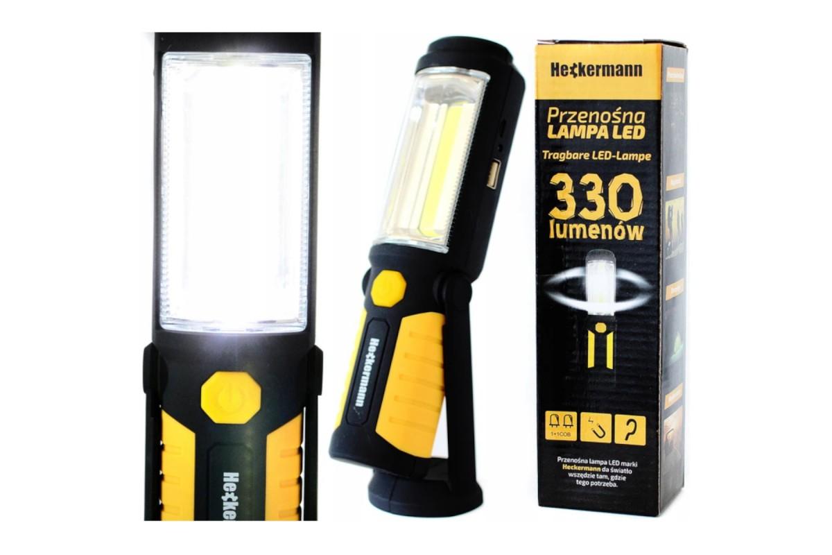 Lampa warsztatowa Heckermann COB LED