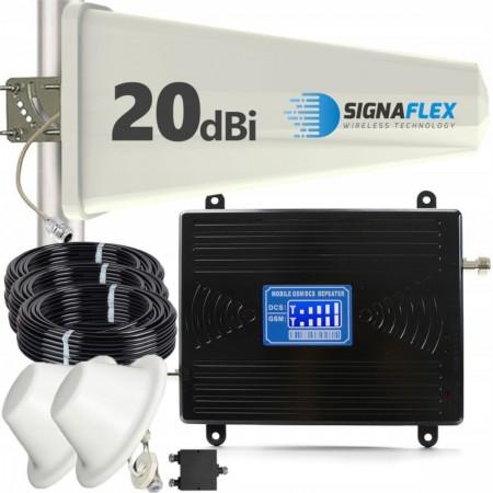 Komplet GSM/DCS LCD2000 Tajfun z 2x grzybek