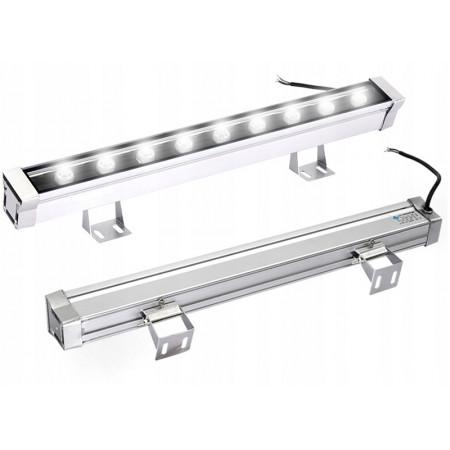 Mocna lampa listwa LED efektowne podświetlenie dom - biała
