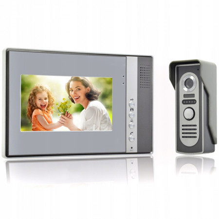 "Wideodomofon 7"" LCD"